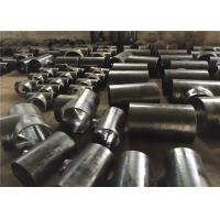China A234Wpb Butt Weld Steel Carbon Steel Forged Steel Pipe Fittings Tee on sale