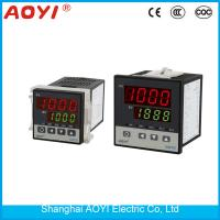 China 48*48mm  digital Temperature Controllers SSR output 220V thermocouple input on sale