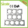 China Europe 1 Gang,2 Gang,3 Gang,4 Gang Wall Switch Socket Electrical Faceplate wholesale