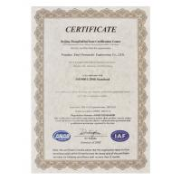 Prius pneumatic Company Certifications