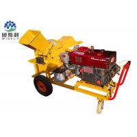 Quality 13hp Diesel Engine Home Wood Chipper Machine 1250 X 1300 X 950 mm Dimension for sale