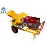 China 13hp Diesel Engine Home Wood Chipper Machine 1250 X 1300 X 950 mm Dimension wholesale