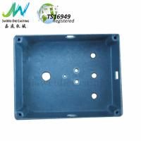China Stone Vibration Surface Die Cast Aluminium Box Drilling with Free Steel Stainless Screws wholesale