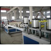 China WPC Floor Base Material / PVC Sheet Extrusion Line For Sandwich Layer wholesale