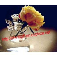 China Angel Glass Flower Vase Hydroponic Pot wholesale