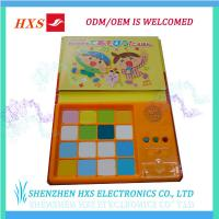 China Buttons Plastic ABS Music Children Sound Book on sale