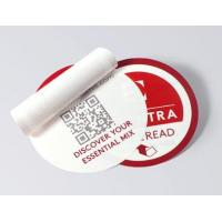 China Round Shape Multi Layer Labels , Custom Design Peel And Reseal Labels wholesale