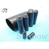 China Adhesive Lined Hearshrink End Cap End Caps Heat Shrinkable Tubing on sale