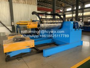 China Slitting Line Hydraulic Recoiler With Coil Car Tension Stand Scrap Winder Device wholesale