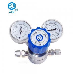 "China Stainless Steel 1/4"" NPT High Pressure Hydrogen Pressure Regulator wholesale"