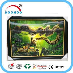 China Competitive Advantage PET 3D Lenticular Poster UV Printing CMYK / Pantone Color wholesale