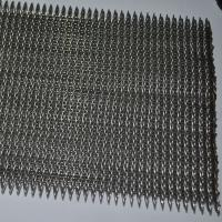 China Crimped Wire Mesh Compound Balanced Belt With High Degree Corrosion wholesale