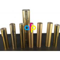 Quality Paper / Paperboard Holographic Film Roll, Metalized Silver / Gold Hot Foil for sale