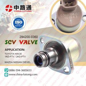 China SCV valve 2kd SCV valve 4m41 SCV valve d4d wholesale