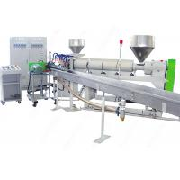 China Spiral Reinforced Plastic Pipe Extrusion Line , PVC Plastic Spiral Suction Hose Making Machine wholesale