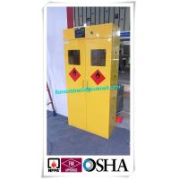 Quality Flammable Liquid Storage Cabinet, fireproof safety storage cabinets, yellow cabinetst for sale