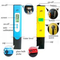 China Waterproof Digital PH Meter Tester , Digital PH Pen Tester High Accuracy wholesale