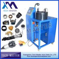 China Blue Manual Hydraulic Hose Crimping Machine L850*W900*H1300mm , 0.05mm Acurracy wholesale