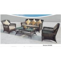 China 4-piece patio outdoor  resin Wicker classic high back sofa with Cushion -9088 wholesale