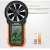 China USB Interface Hand Held Wind Anemometer , Custom Air Flow Velocity Meter wholesale