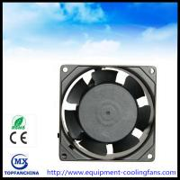 China 80 x 80 x 38 mm computer fan cpu cooling fan metal, ball bearing 110V - 240V ac axial fan wholesale
