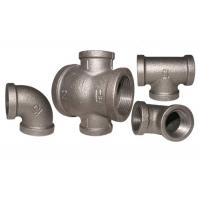 China Galvanized High Precision Malleable Iron Elbow 1/2 Inch Npt 90 Degree Pipe Fittings wholesale