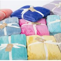 China 100% Polycotton Fabric Flannel Blanket Dyed Print Bale Packing / Blut Packing wholesale