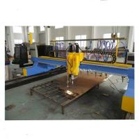 China 4000mm Gantry Type CNC Plasma Cutting Machine with vertical and horizontal cutting on sale