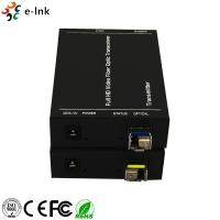 China High Resolution DVI HDMI Over Fiber Optic Extender Plug And Play Simple To Install wholesale