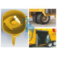 China Feedlot Animal Food Mixer Machine Feeder Wagons , Durable Poultry Feed Mixer Grinder wholesale
