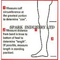 China Medical Compression Stockings Of Knee Length For Varicosis With Oedema wholesale