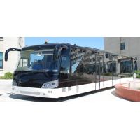 China 14M length 3m width luxury airport shuttles 110 passenger standing area wholesale