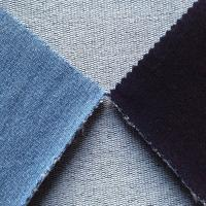 China winter indigo stretch knit denim for jeans/pants/garment wholesale