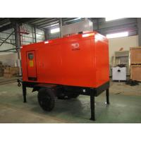 China Rating Blushless Mobile Electric Generator , Mobile Generator Set With Cummins 6BTAA5.9-G12 wholesale