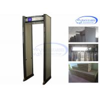 PG600M Door Frame Security Metal Detectors , Full Body Multi Zones Metal Detector For Subway
