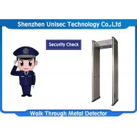 China 6 / 12 / 18 Zones Portable Metal Detector UB600 For Security Checking wholesale