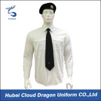 China Wrinkle Resistant Security Polo Shirts / Security Officer Shirts For Company Guard wholesale