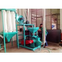 China 50HZ PP Plastic Pulverizer Machine Abrasion Resistance No Dust Voltage Protection wholesale