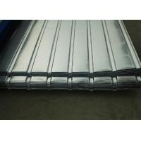 China Corrugated Galvanized Steel Sheets , Corrugated Roofing Sheets For Construction Roof wholesale