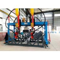 China 200-800 Mm Web Width H Beam Production Line LMH-5000 Automatic Customized Rail Distance wholesale