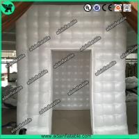 China Wedding Event Decoration White Inflatable Photo Booth Tent/Advertising Inflatable Tent wholesale