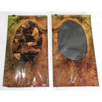 Classic personalization Anti corrosive Plastic Cigar Bags with slider ziplock