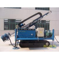 China MDL-135D Great Torque Portable Drilling Rigs , Crawler Drilling Machines wholesale