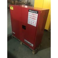 China Flammable Vented Chemical Storage Cabinets For Combustible Liquid 30 gallon wholesale