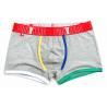 China Fashion High Rise Boxer Briefs , High Stretch Mens Cotton Boxer Shorts wholesale