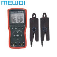 China MEWOI5000B- Intelligent Double Clamp Digital Phase Volt-Ampere Meter wholesale