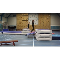 Buy cheap 10cm Strong Velcro Inflatable Airbox Jumping Mat For Gym from wholesalers