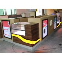 China Customized Color Cell Phone Display Case / Mobile Phone Display Cabinet wholesale