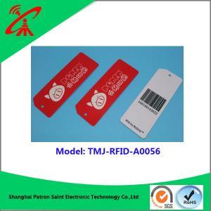 Buy cheap UHF RFID 860-960MHZ plastic tag Custom Mini rfid pvc plastic luggage tag product