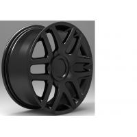 China Full Painted Black / Sliver 5 Hole 17 Inch Alloy Wheels 17x7.5 wholesale